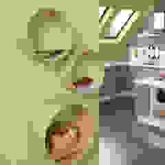 Kißkalt Designs KitchenCabinets & shelves Wood