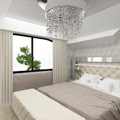Modern Bedroom by ARTDESIGN architektura wnętrz Modern
