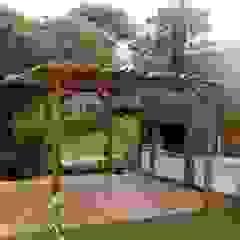 Quinchos, Parrillas y Hogares Balcones y terrazas modernos: Ideas, imágenes y decoración de Arquitecto Oscar Alvarez Moderno