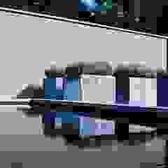 Bacs à fleurs en acier galvanisé Vadim par SO GARDEN Moderne