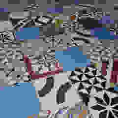 Marokkaanse cementtegels van Articima - Patchwork Mediterrane muren & vloeren van Articima Mediterraan