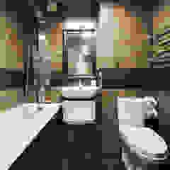 Salle de bain rustique par Порядок вещей - дизайн-бюро Rustique