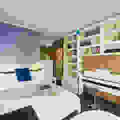 Chambre rustique par Порядок вещей - дизайн-бюро Rustique