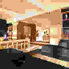 de-cube Modern Living Room