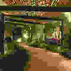 Taman Minimalis Oleh BAMBU CARBONO ZERO Minimalis Bambu Green