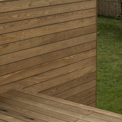 Arch. DI Peter Polding ZT Classic style balcony, veranda & terrace Wood