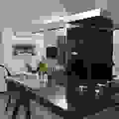 Moderne Küchen von Fernanda Moreira - DESIGN DE INTERIORES Modern MDF