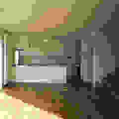 Salle à manger moderne par 桐山和広建築設計事務所 Moderne