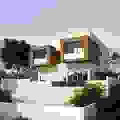 Casas modernas por Murat Aksel Architecture Moderno Madeira Acabamento em madeira