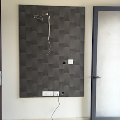 Decor At Door Ruang Makan Modern