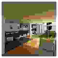 Mendonça Santos Arquitetos & Associados Modern dining room