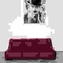industrial  by Мешок в Дом, Industrial Fake Leather Metallic/Silver
