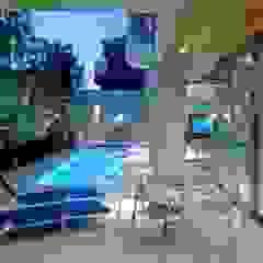 プールコートの家 オリジナルスタイルの プール の AMO設計事務所 オリジナル