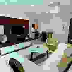 Crescent Grande Modern living room by ARK Reza Kabul Architects Pvt. Ltd. Modern