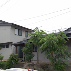 Eclectic style houses by (有)岳建築設計 Eclectic