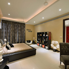 H5 Interior Design Modern style bedroom Black