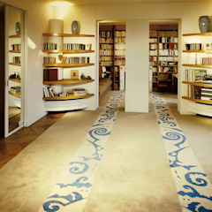 Leone edition Modern Living Room Wool Beige