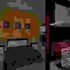 Dormitorios de estilo minimalista de HHRG ARQUITECTOS Minimalista