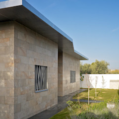 Fachada interior Sánchez-Matamoros | Arquitecto Casas de estilo moderno Cerámico Beige