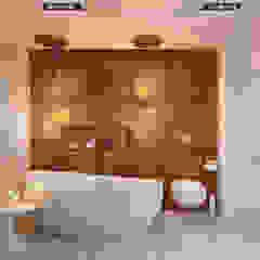 1+1 studio Minimalist bathroom