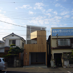 Modern houses by 小形徹*小形祐美子 プラス プロスペクトコッテージ 一級建築士事務所 Modern Wood Wood effect