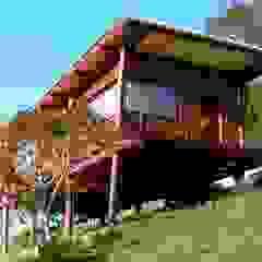 من Cabana Arquitetos ريفي خشب Wood effect
