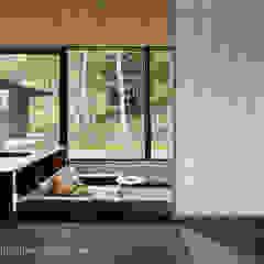 037軽井沢 I さんの家 和風デザインの リビング の atelier137 ARCHITECTURAL DESIGN OFFICE 和風 木 木目調