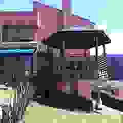 Jardins minimalistas por Vertice Oficina de Arquitectura Minimalista