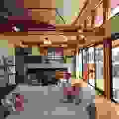 大出設計工房 OHDE ARCHITECT STUDIO Rustic style living room
