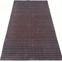 by Rug Factory Industrial Synthetic Brown