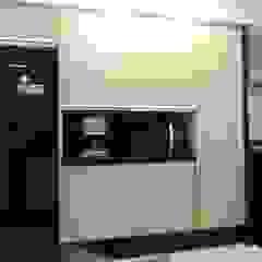 Um apartamento cheio de estilo por CRAFT ARQUITETURA Moderno