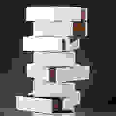 Schubladenschrank Mirko Danckwerts Möbelgestaltung WohnzimmerAufbewahrung MDF Weiß