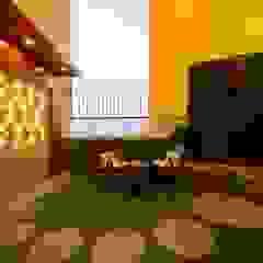 RESIDENTIAL PENTHOUSE INTERIORS Modern garden by AIS Designs Modern