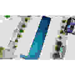 Beach cabin. Playa Avellanas, Costa Rica Eklektyczny basen od 2kul INTERIOR DESIGN Eklektyczny