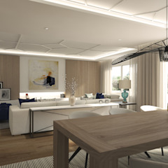 Modern Living Room by Disak Studio Modern Wood Wood effect
