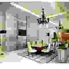 Modern dining room by Dutta Kannan architects Modern