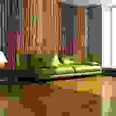 Feature wall Minimalist walls & floors by Emma Jayne Sayers Minimalist