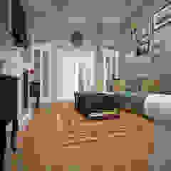 Salas de estar ecléticas por BMM Eclético