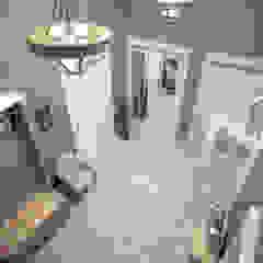Corredores, halls e escadas ecléticos por BMM Eclético