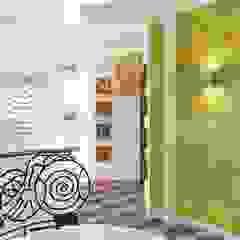 Eclectic style corridor, hallway & stairs by Alena Gorskaya Design Studio Eclectic
