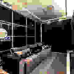 casa rg Salas multimídia modernas por grupo pr | arquitetura e design Moderno