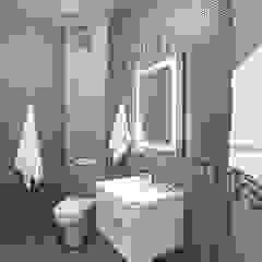 Alena Gorskaya Design Studio Salle de bain minimaliste