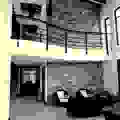 Vista interior, salón de ESTUDIO URBANO A+U