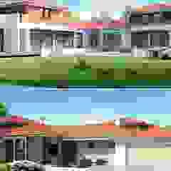 PROJEKT DOMU DIONIZY G2 Śródziemnomorskie domy od Pracownia Projektowa ARCHIPELAG Śródziemnomorski