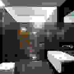 Casa Covelo Casas de banho minimalistas por mioconcept Minimalista