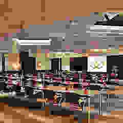 Hotel Sofitel Lisbon Liberdade, excelência na iluminação com Aura Light Hotéis coloniais por Aura Light Colonial