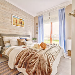 Eclectic style bedroom by DreamHouse.info.pl Eclectic