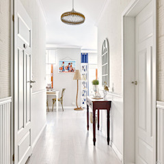Eclectic style corridor, hallway & stairs by DreamHouse.info.pl Eclectic