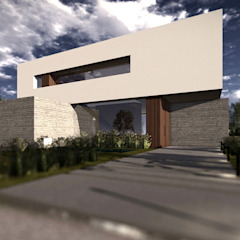 BAM! arquitectura Minimalist houses