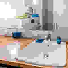 Salle de bain originale par dekoratorka.pl Éclectique